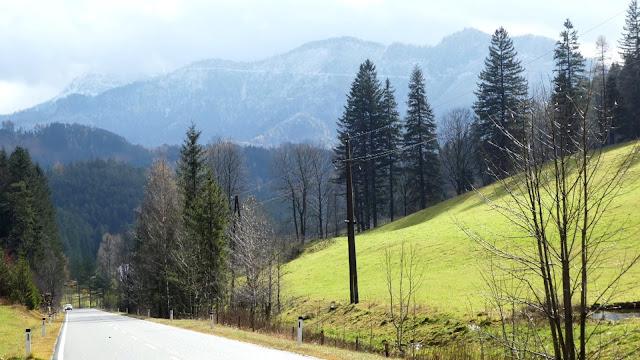 Blick auf den Schneeberg, Kalte Kuchl