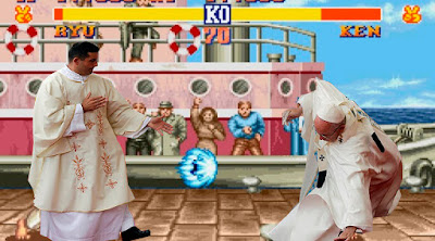 Memes caída del Papa Francisco