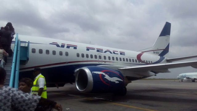 Air Peace airline almost involved in mishap