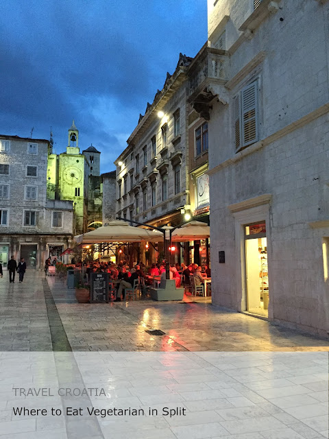 Travel Croatia. Where to Eat Vegetarian in Split