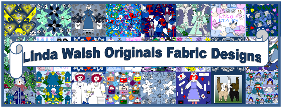 Linda Walsh Originals Fabric Designs