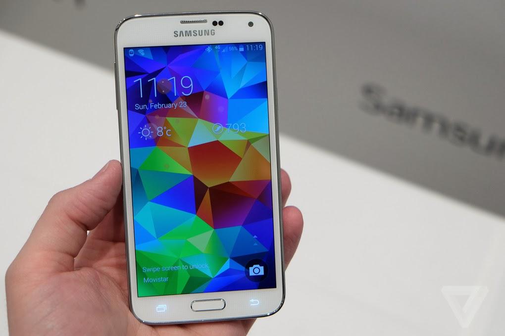 Galaxy S5 - Fonte/Reprodução: The Verge