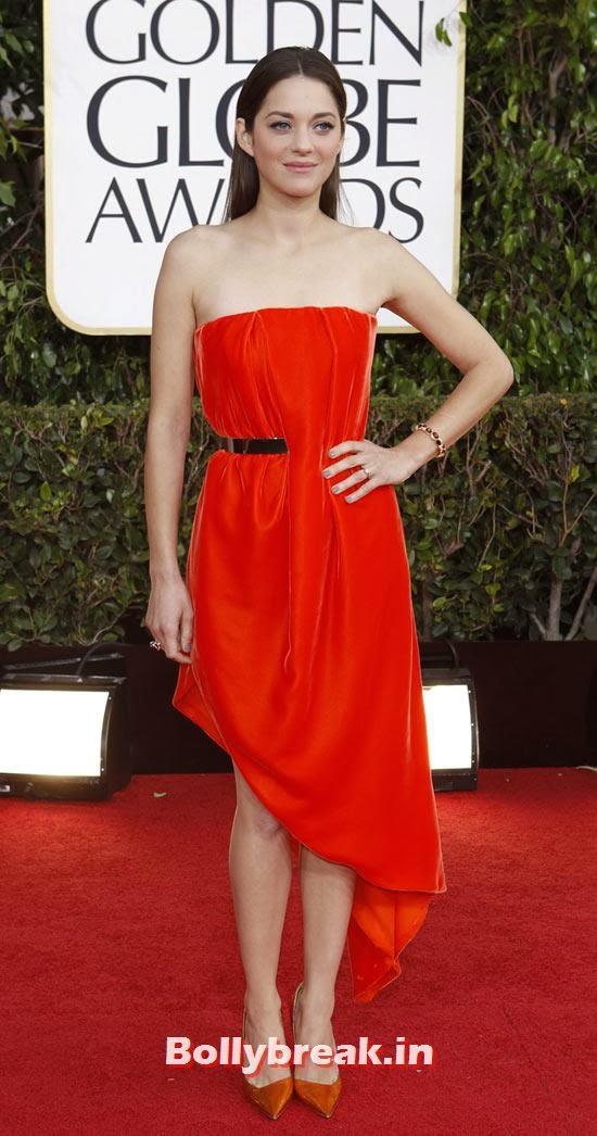 Marion Cotillard, Who Looks the Hottest in Red Party Dress