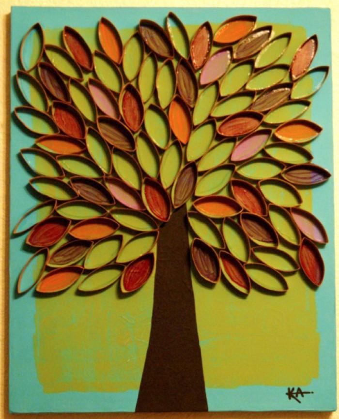 Genoeg Onderwijs en zo voort 1610 Herfst schilderen Met t &PV26