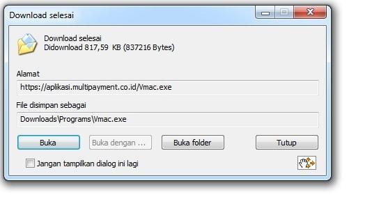 Aplikasi Cek Mac Addres