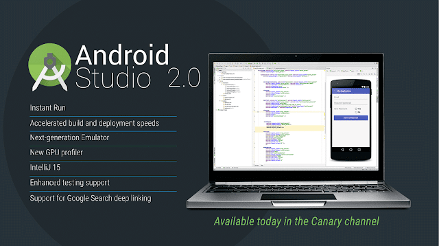 Google lança Android Studio 2.0 com Instant Run