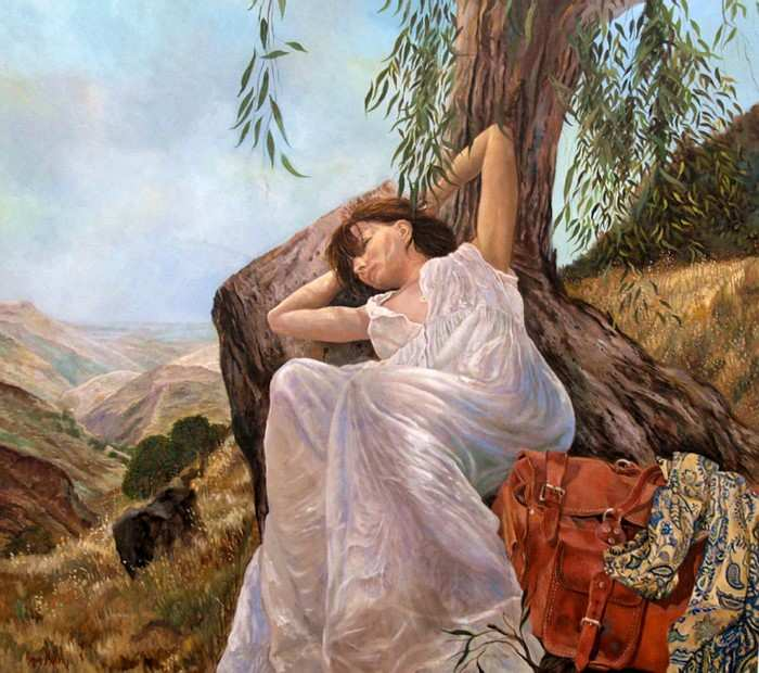Израильский художник. Hanan Milner