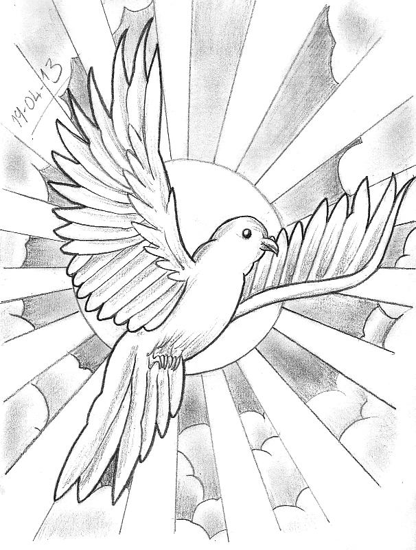 Cloud Tattoo Drawing: Tattoo Sketch A Day: Birds April 15th