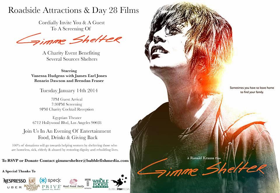 LA Entertainment Publicity - MAYO PR: 'Gimme Shelter' film ...