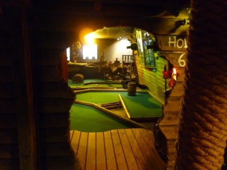 Miniature Golf in Whitby