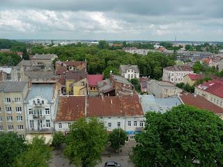 Дрогобыч. Вид на северную часть города, на улицу Степана Бандеры
