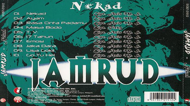 Lagu-Lagu Jamrud - Album (Nekad) 1996
