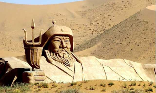 Genghis Khan, history and could not find whose tomb!
