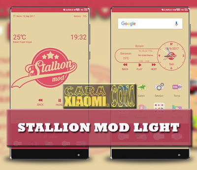Themes MIUI Stallion Mod Light Mtz [Support for MIUI 9] [V9 Theme] by Jay Milano