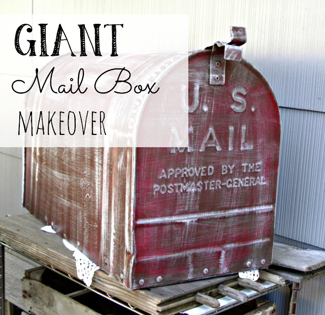 giant mailbox makeover