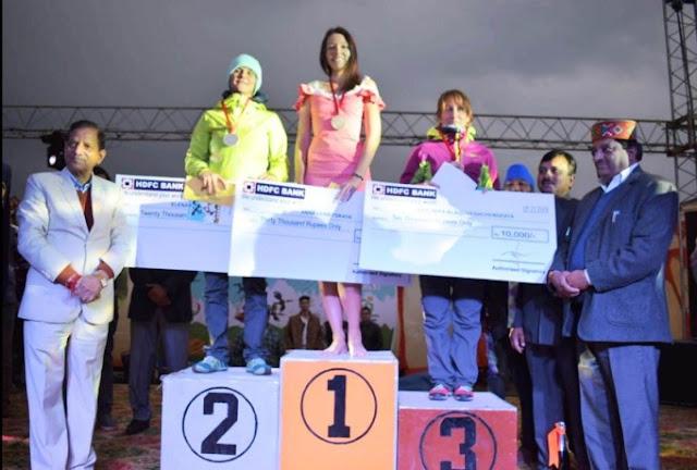 Indian open paragliding championship woman winner 2018