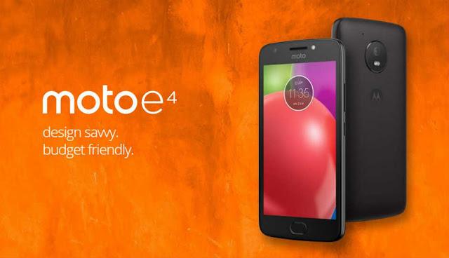 Moto E4 technical review