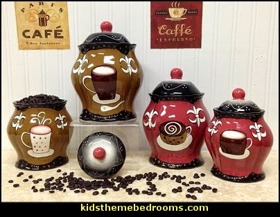 coffee theme decor - coffee themed decorating ideas - coffee themed kitchen decorations - coffee cup theme in the kitchen - coffee kitchen decor - coffee wall decal stickers - coffee cafe decor - coffee wallpaper murals - Barista tools  coffee cafe
