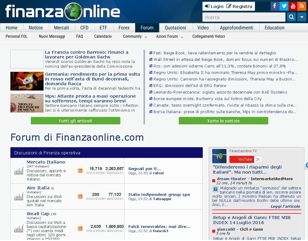 Forex finanzaonline forum