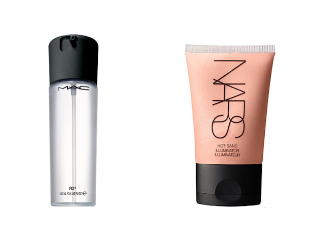Kelli's Blog Mac Fix Plus Nars Hot Sand