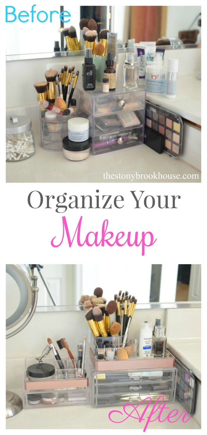 Clean out organize your makeup the stonybrook house for Organize cleaning your house