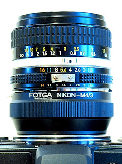 Nikkor Ai-S 50mm 1:1.4, Top