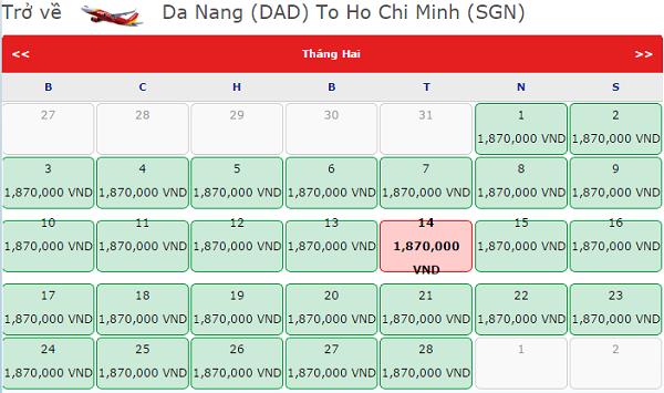 Vietjet mở bán vé máy bay tết 2018 đi Đà Nẵng giá chỉ từ 1.870.000 đồng