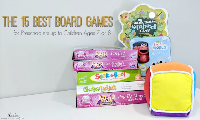 The 15 Best Board Games for Preschoolers up to Children Ages 7 or 8