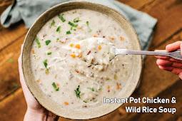 Instant Pot Chісkеn & Wild Rісе Sоuр