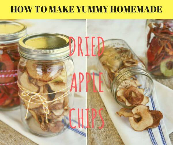 Homemade Dried Apple Chips