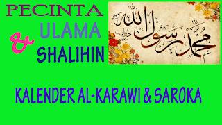Tanggal 1 Bulan-Bulan 1439 Hijriyah Hisab Al-Karawi / Pon-Pes Darut Thayyibin Saroka