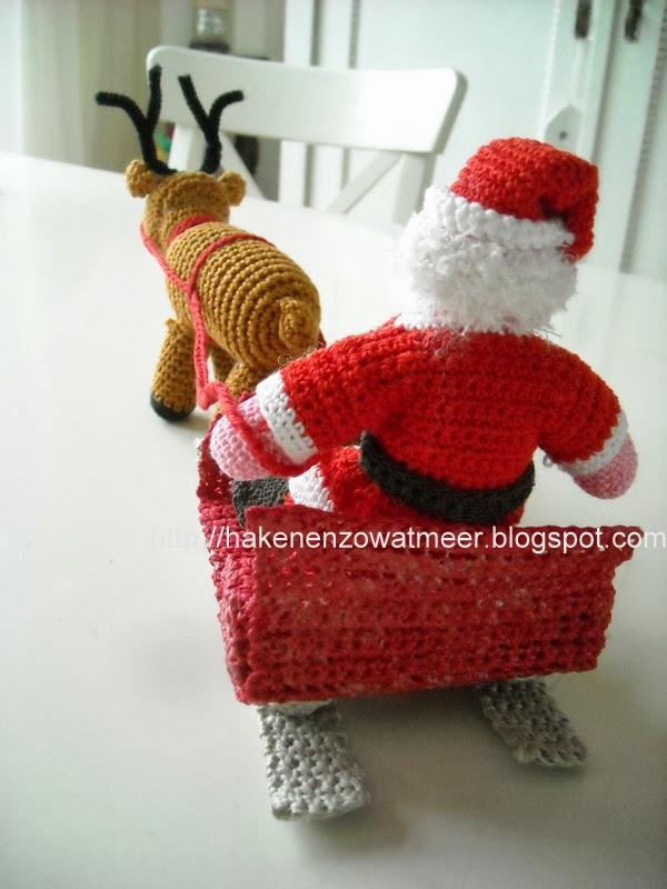 Haken En Zo Wat Meer Tinekeshaakpatronen Haakpatroon De Kerstman