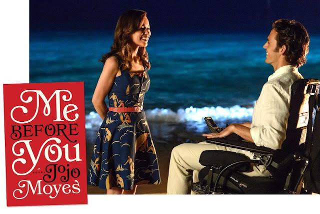 Yo antes de ti (PELICULA, 2016) Basada en la novela de Jojo Moyes