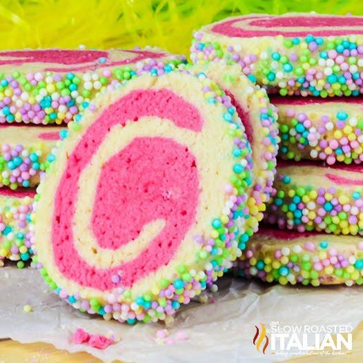 Easter Pinwheel Cookies