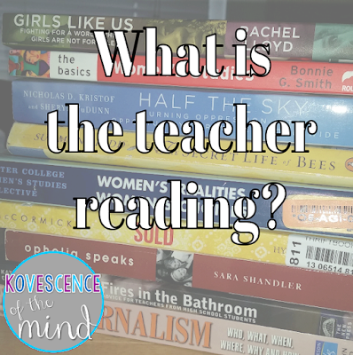 What the teacher is reading December 2015