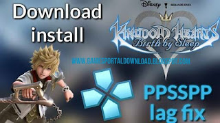Kingdom Hearts Birth by Sleep PPSSPP ISO Download