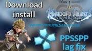 Kingdom Hearts Birth by Sleep ISO PSP PPSSPP Download