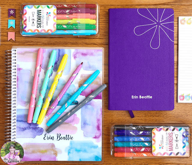 Journaling Supplies - Erin Condren Coiled and Softbound Notebooks