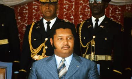 "Jean Claude ""Baby Doc"" Duvalier"