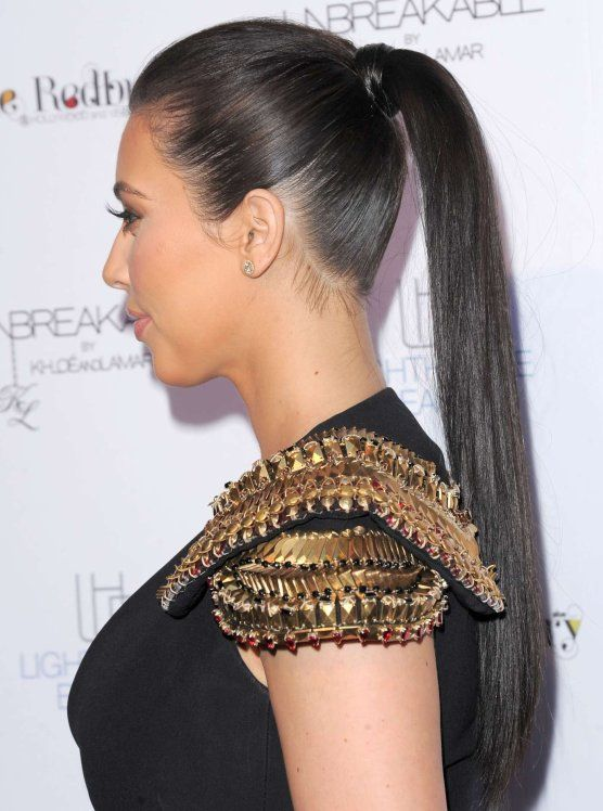 Slicked Back Ponytails The Haircut Web