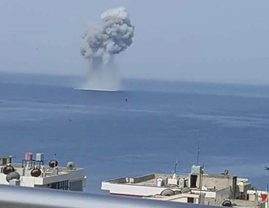 Су-30СМ щойно після злету в Латакії занурився в Середземне море