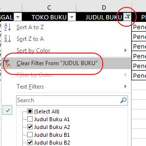Autofilter Data Pada Excel 21