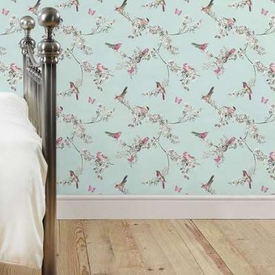 gambar desain wallpaper kamar tidur terbaik