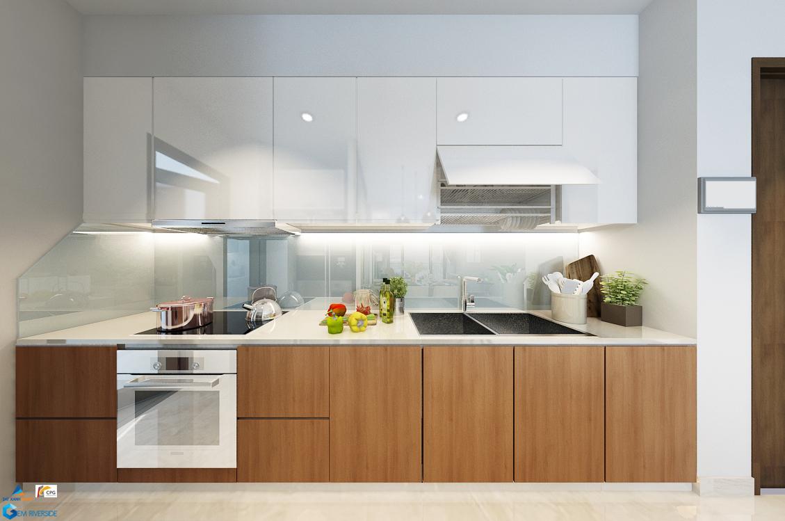 Gợi ý thiết kế bếp  căn 80m2 tại Gem Riverside