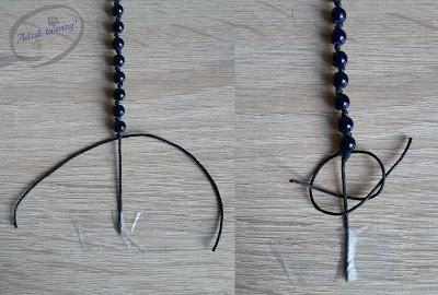 bransoletka ze sznurka jak zrobić instrukcje
