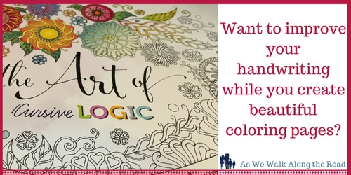 Cursive Logic adult coloring book review