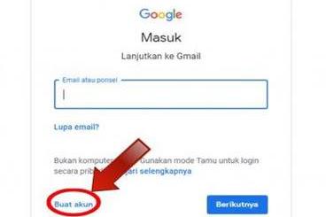 Cara Buat Akun Gmail Sampai Jelas