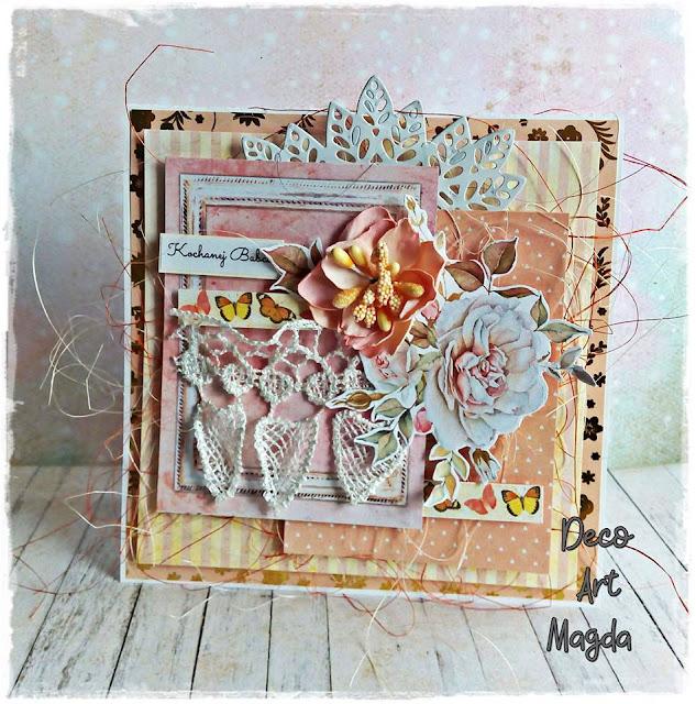 Kartka z gipiurą dla babci