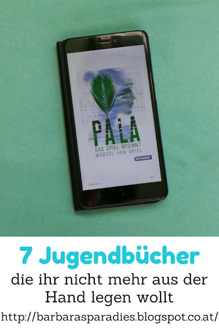 7 Jugendbücher, die ihr nicht mehr aus der Hand legen wollt - Pala 1 - Das Spiel beginnt von Marcel van Driel