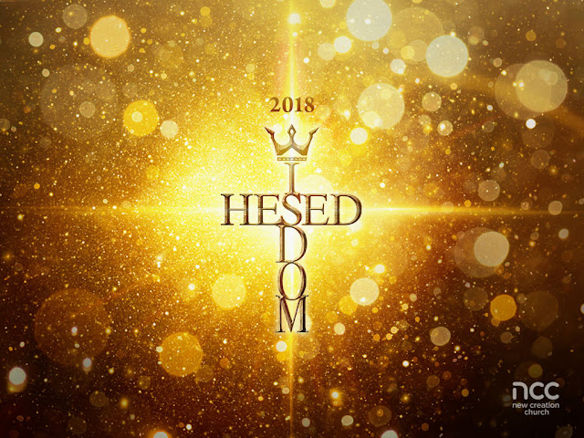 This year 2018, prioritize wisdom! You are reading: 7 January 2018 - Vision Sunday: The Year of Hesed Wisdom - Pastor Joseph Prince Sermon Notes - New Creation Church Theme of the Year 2018.